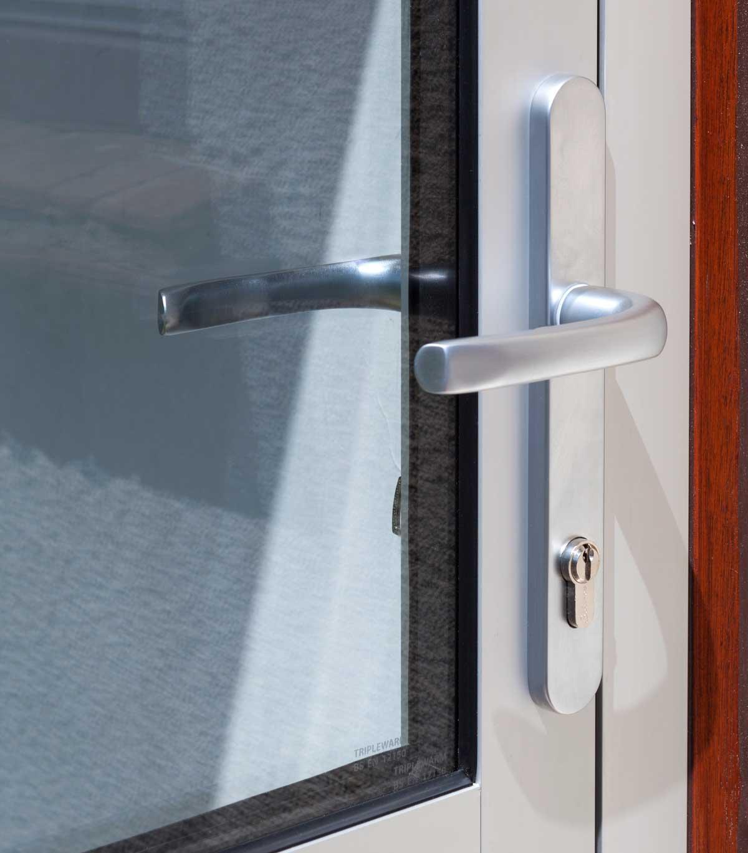 Secure Aluminium Doors