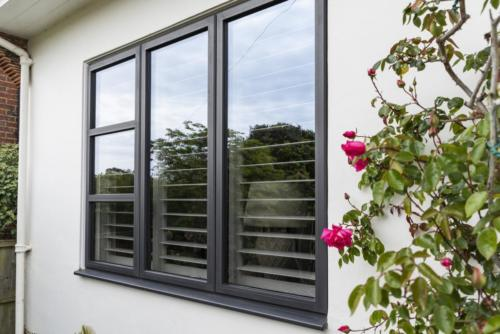 Aluminium Alitherm Window with transoms
