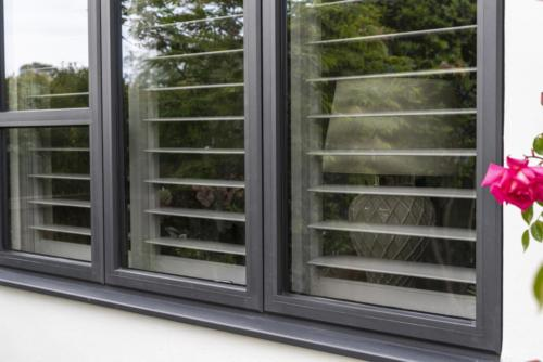 Aluminium - Alitherm Window with transoms