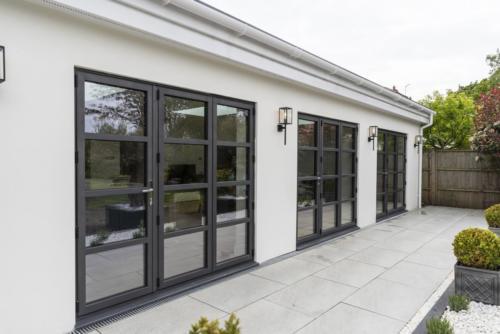 Aluminium Bi Fold Rear House