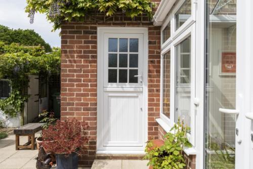 Pvc White Stable Door